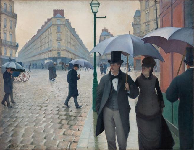 1964.336 - Paris Street; Rainy Day